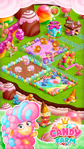 Sweet Candy Farm with magic Bubbles and Puzzles 1.18 cheathackgameplayapk modresources generator 2