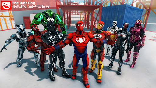 The Amazing Iron Spider cheathackgameplayapk modresources generator 1