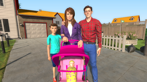 Virtual Mother Happy Family New Baby Twins 1.0.1 cheathackgameplayapk modresources generator 1