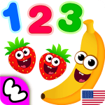 Download Funny Food 123! Kids Number Games for Toddlers APK, APK MOD, Cheat
