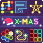 Free Download Puzzle Glow : Brain Puzzle Game Collection APK, APK MOD, Cheat