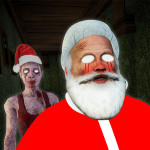Free Download Granny House Chapter 2-Scary Santa Horror Game APK MOD Cheat