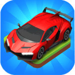 Download Merge Car game free idle tycoon APK MOD Cheat