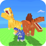 Download Blocky Dino Park: Apex Predator Arena MOD APK Cheat