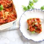 Gesunde Blumenkohl-Lasagne