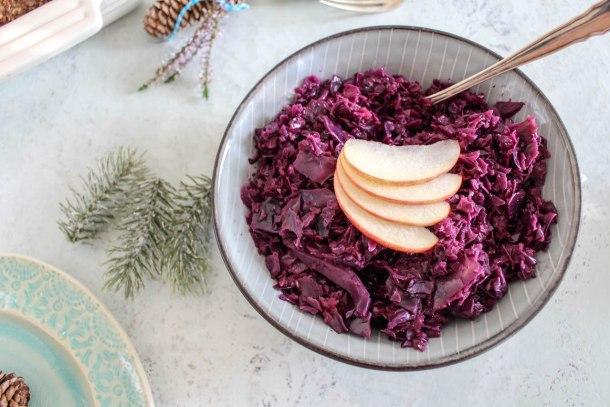 Himmlischer Apfel-Rotohl - vegan, glutenfrei, ohne raffinierten Zucker - de.heavenlynnhealthy.com
