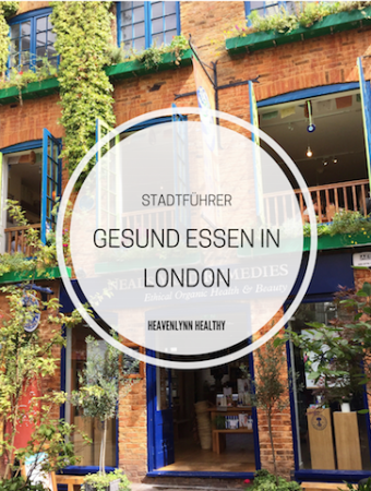 Gesund Essen in London – Restaurants, Delis & Cafés