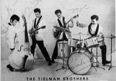 The Tielman Brothers, vlr Ponton, Reggie, Andy en Loulou.