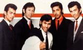 The Tielman Brothers, vlnr Hans Bax, Loulou, Andy, Robby Latupurisa en Reggie