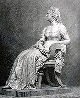 Königin Luise von Preussen. Holzstich nach einem Standbild von Ernst Hundrieser, 1891.jpg