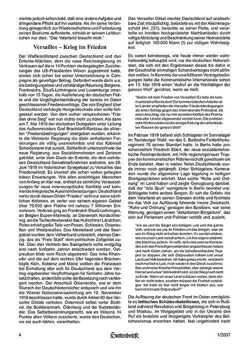 Albert Leo Schlageter – ein deutscher Freiheitskämpfer, Huttenbriefe Sonderdruck Februar 2007 - 04.jpg