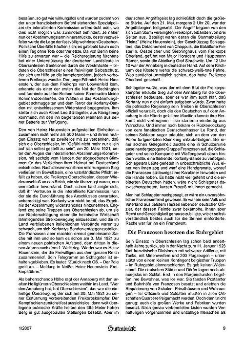 Albert Leo Schlageter – ein deutscher Freiheitskämpfer, Huttenbriefe Sonderdruck Februar 2007 - 09.jpg