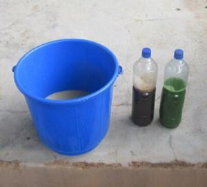 Seife und Extrakt