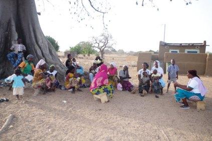 Dorf Gruppe