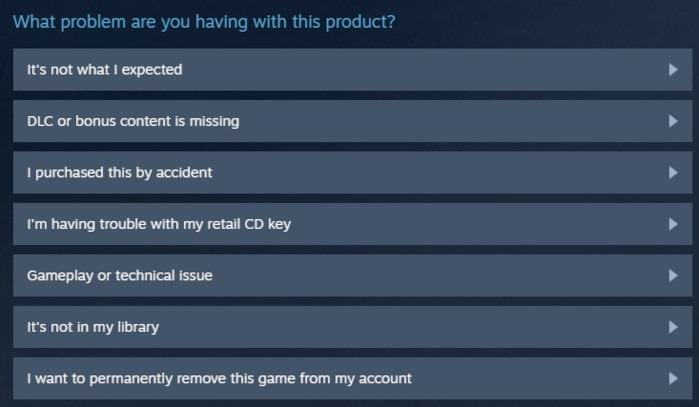 So erstatten Sie Spiele auf Steam Schritt 3