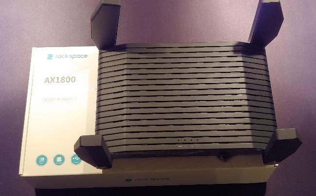 Rock Space Ax1800 Wi-Fi 6 Router Testantennen