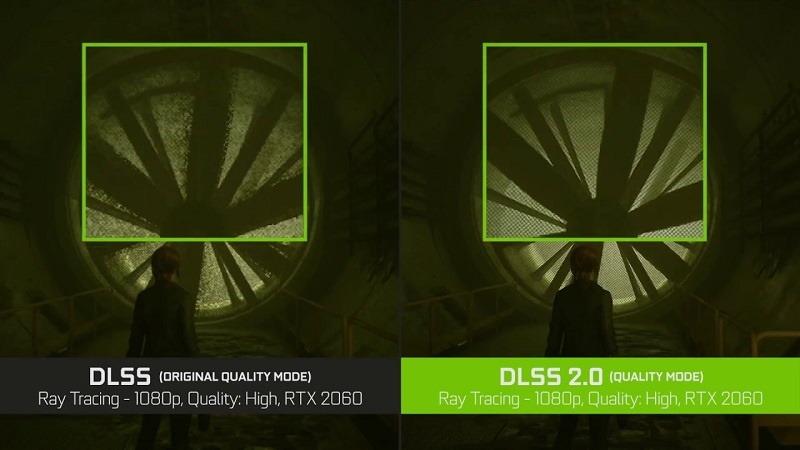 Vergleich der Dlss-Versionen