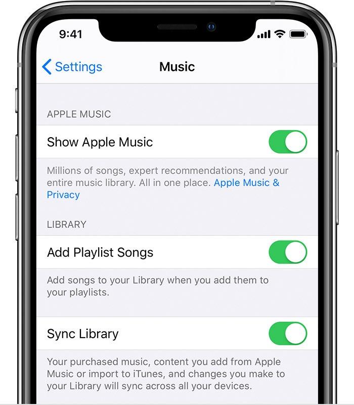 Deaktivieren Sie die Icloud-Musikbibliothek iOS