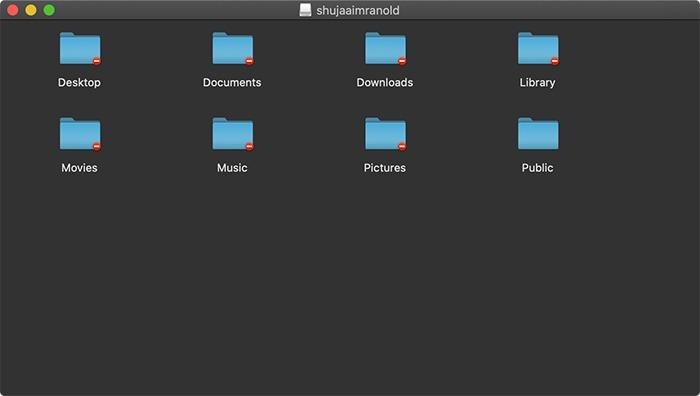 Zwei Macos-Konto-Disk-Image-Dateien zusammenführen