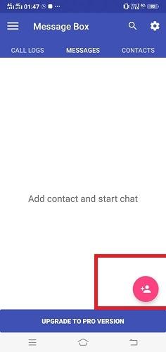 Verbergen Sie SMS-Anrufe-Rechner Kontakte hinzufügen
