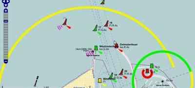 OpenSeaMap mostra il percorso della