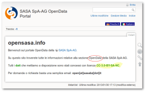sasa no open data