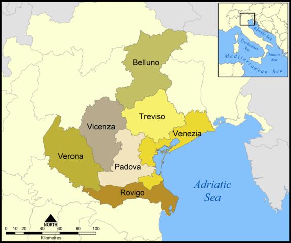 Veneto e province