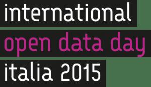 Il logo uffiiale dell'edizione italiana 2015. Credits: opendataday.it