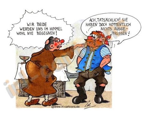 Schwarz Macht Schlank Kirchen Cartoons Amazon De Pyka Holger
