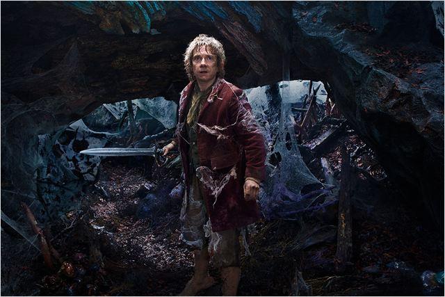 Martin Freeman als Hobbit; Filmszene aus Der Hobbit: Eine unerwartete Reise; Bildquelle: Filmstarts.de