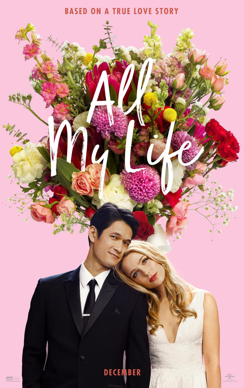 poster zum all my life liebe als