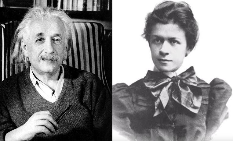 albert einstein, esposa de einstein, mileva maric, ciencia, parejas de cientificos, mentes brillantes