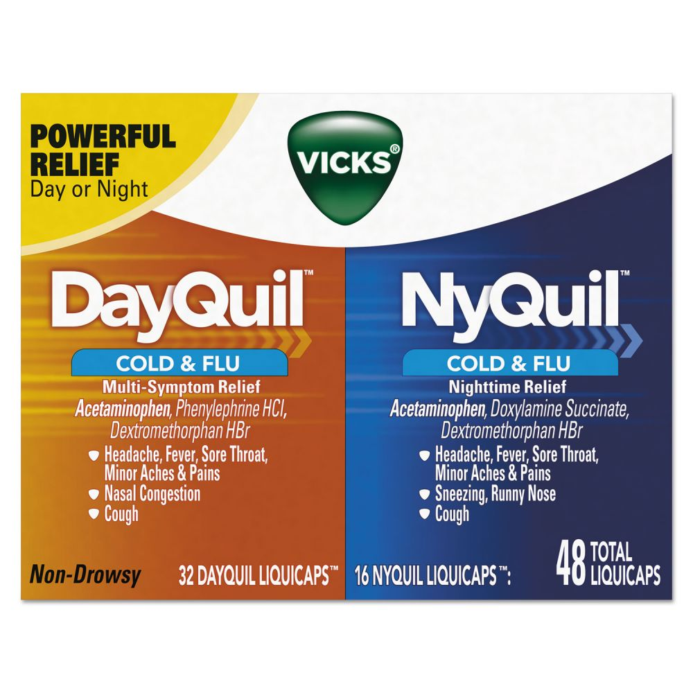 323900014527 UPC Vicks Day Quil Ny Quil Cold Amp Flu UPC