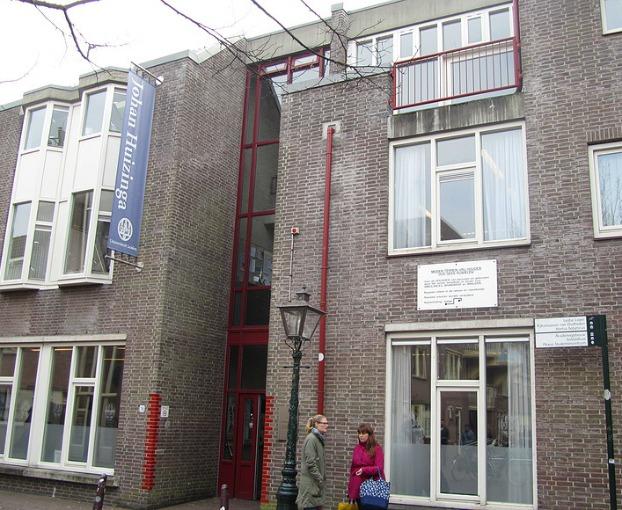 Rijksuniversiteit Leiden. Johan Huizingagebouw.