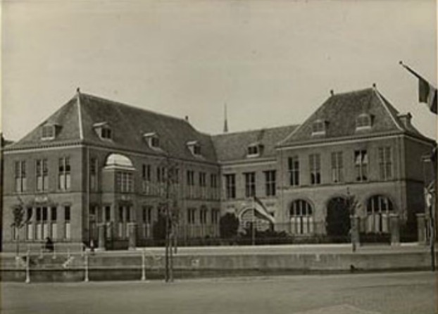 Rijksuniversiteit Leiden. Oude universiteitsbibliotheek.