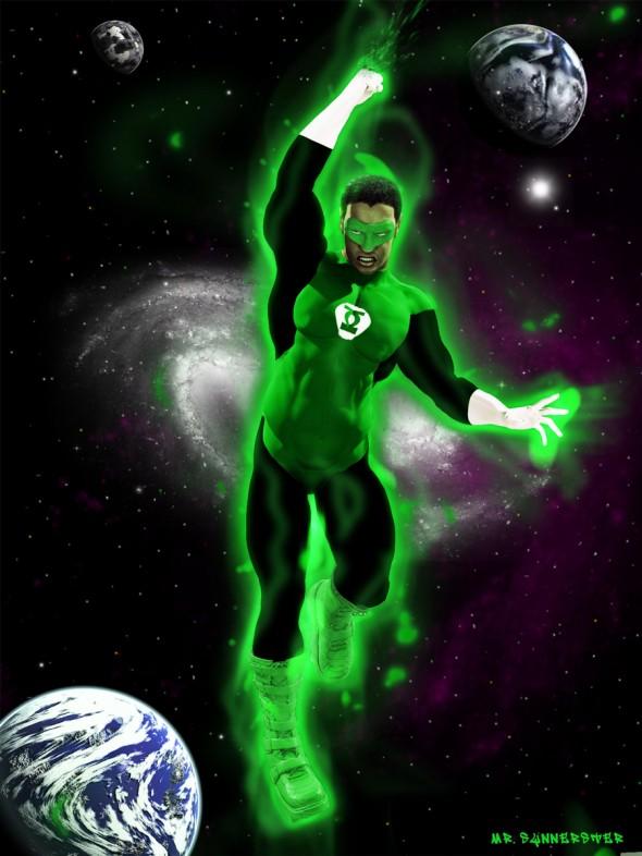 Green Lantern Stewart