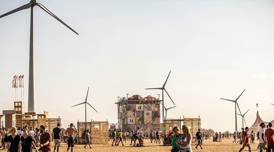 Hoe duurzaam zijn festivals? Dour probeert het groen