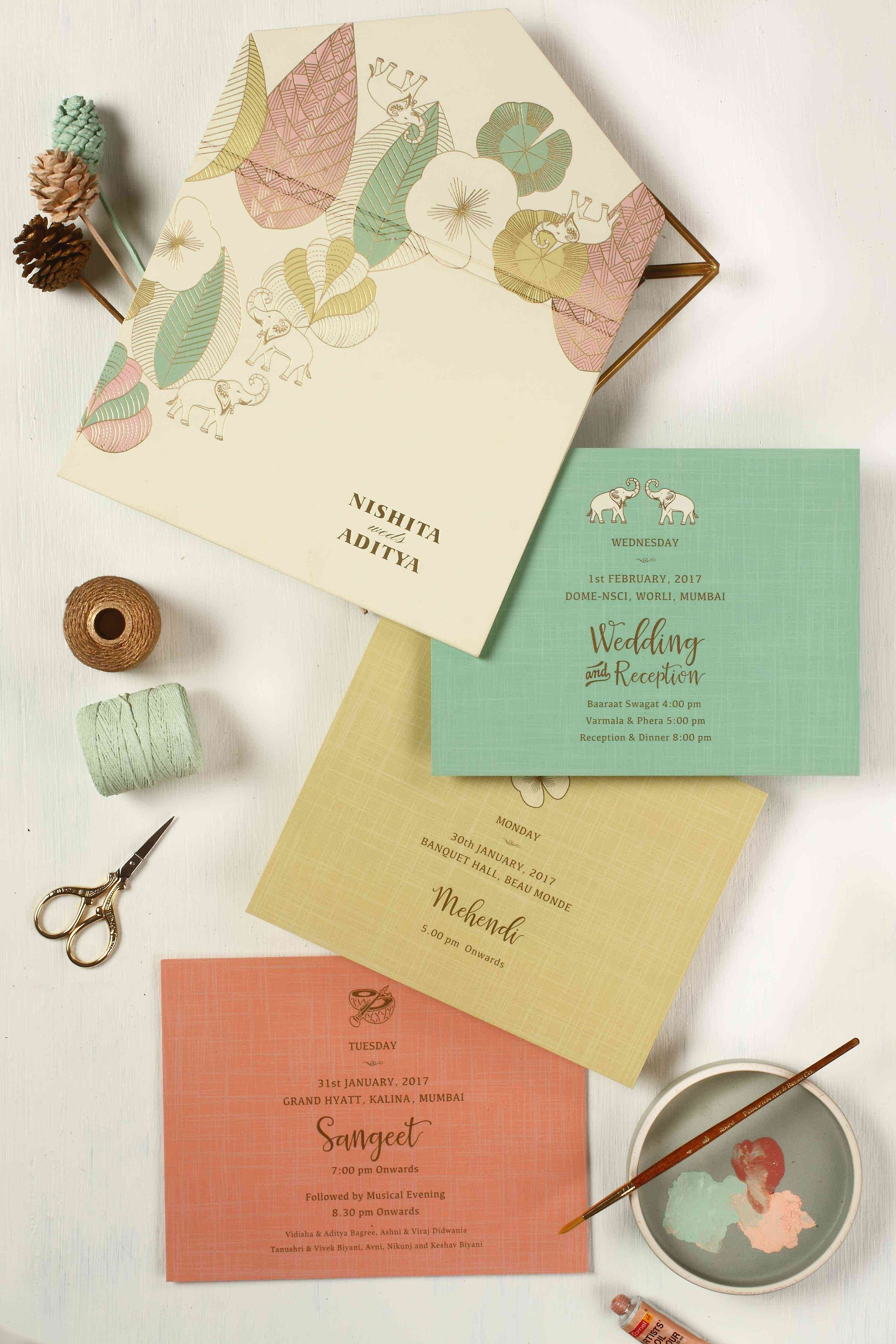 the best indian wedding card designs we