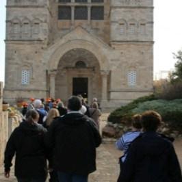 Pilgrimage Day 3, Mount Tabor, Cana, Nazareth