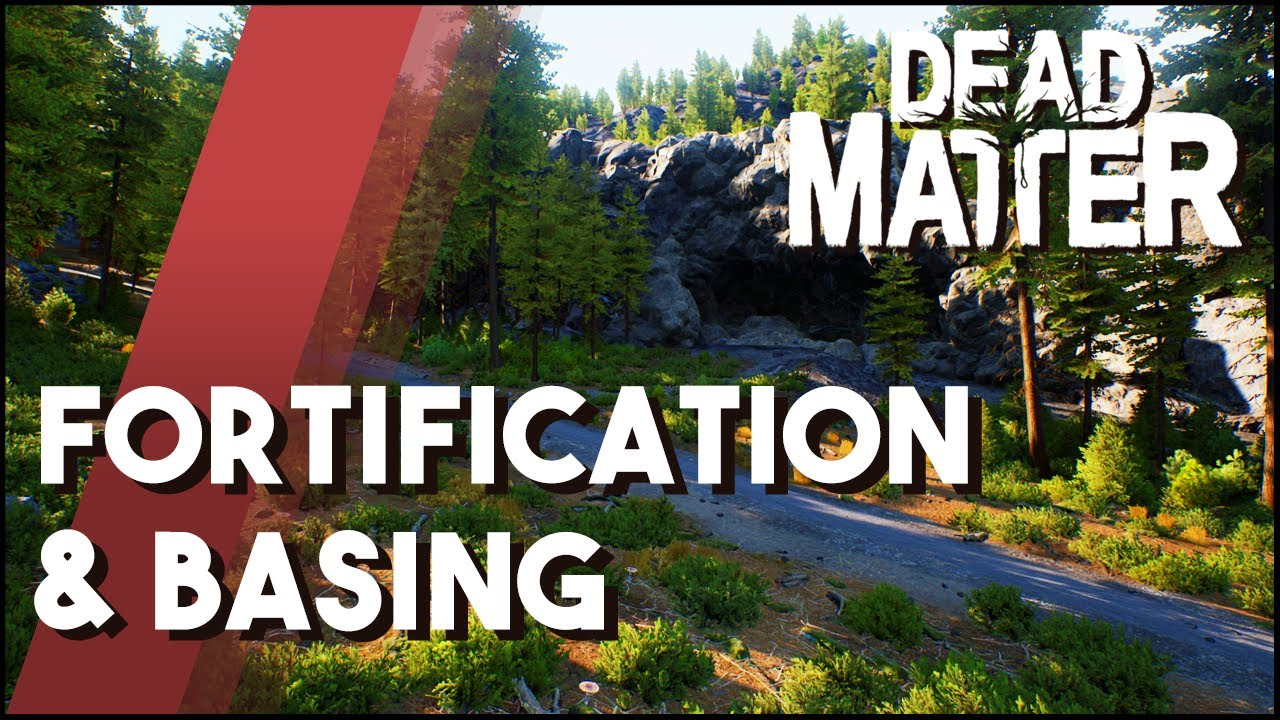 Dead Matter Update - Basing & Fortification