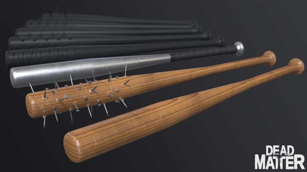 Dead Matter baseball bats