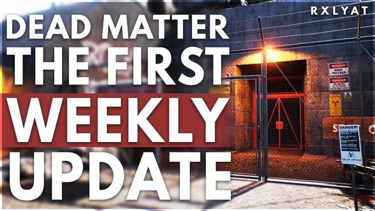 Dead Matter UPDATE is NEXT WEEK and its HUGE