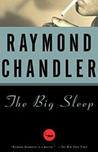 Book Cover The Big Sleep by Raymond Chandler