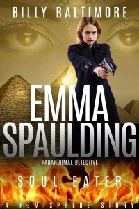 Book Cover for Emma Spaulding Paranormal Detective Soul Eater