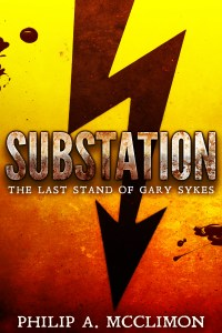 This is the cover for Substation The Last Stand of Gary Sykes