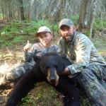 Mike & Ty's bear hunt 2016
