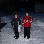Hunting together