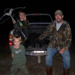 Bear hunt- Dad and sons, 2012