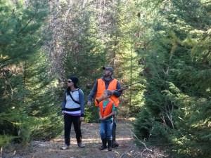 Family partridge hunt