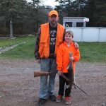 Father/son rabbit hunt